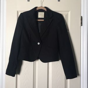 •Old Navy• women's cropped black blazer NWOT
